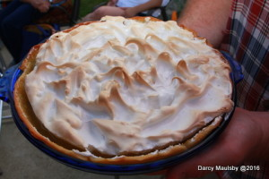 This homemade pie was inspired by Alice Ann Dial's famous Lemon Meringue Pie.