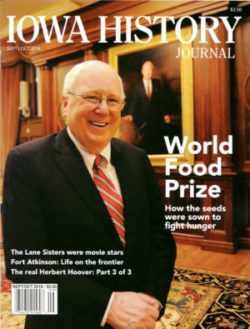 Iowa History Journal Cover-V8I5-World-Food-Prize-e1472605373948