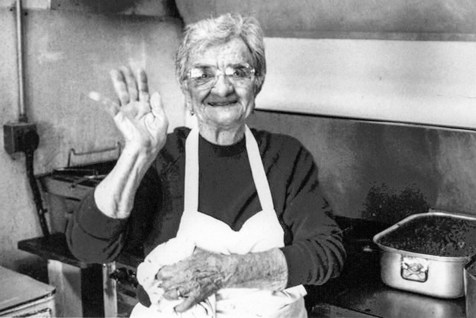 Alice Nizzi, spaghetti, Waukee, Iowa, food, Italian, history