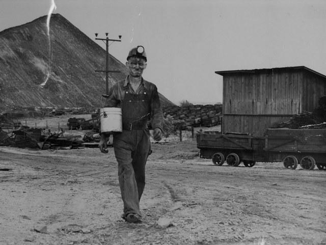 Iowa coal miner, Dallas County