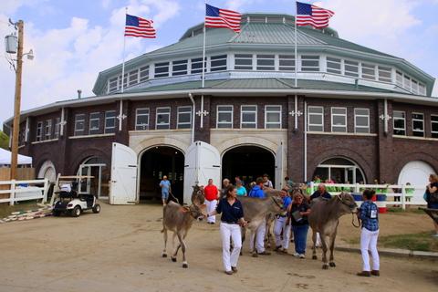 Iowa State Fair Livestock Pavilion