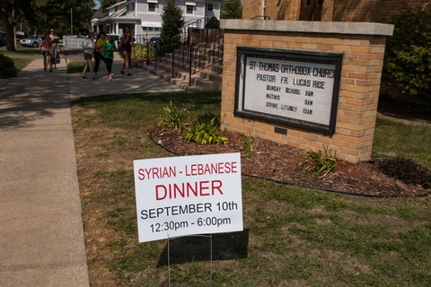 Syrian-Lebanese church dinner Iowa