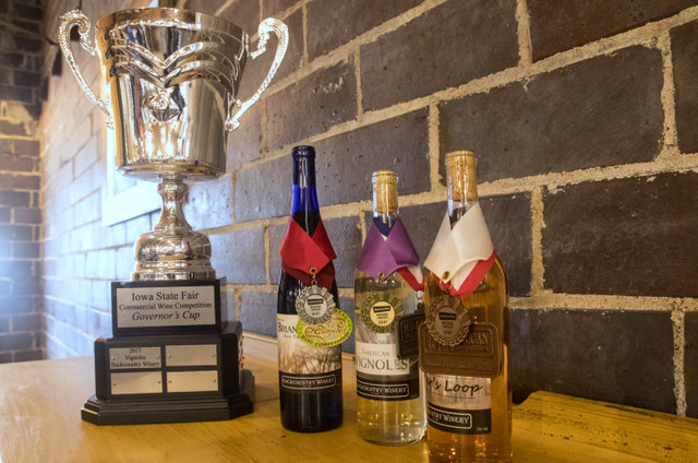 Iowa State Fair wine winners Backcountry Winery