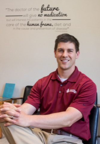 Dr. Jeff Redenius promotes healthy living through his business in small-town Iowa.