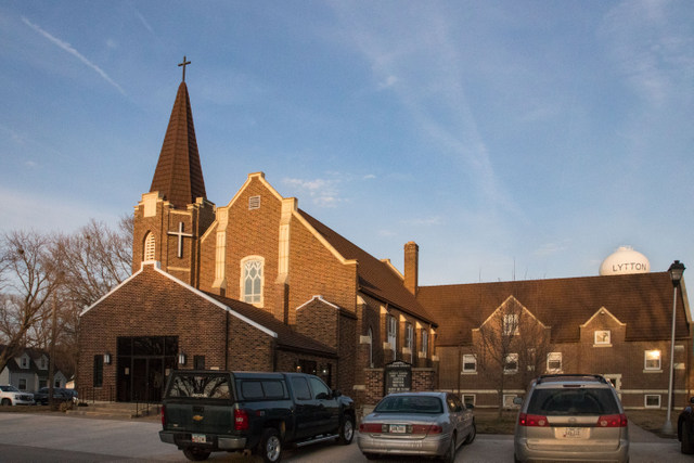 Emanuel-St John Lutheran Church in Lytton, Iowa