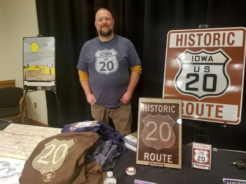 Bryan Farr, founder and president of non-profit Historic US Route 20 Association