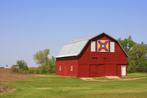 Sac County Iowa barn quilt