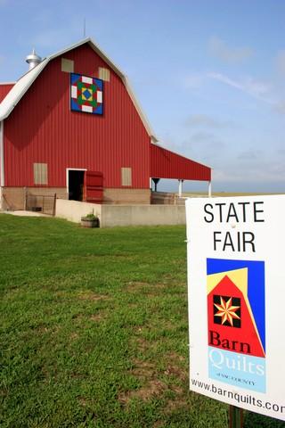Sac County Iowa barn quilt