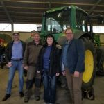 Darcy and German farmers who share ag's story