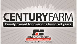 Iowa Century Farm award