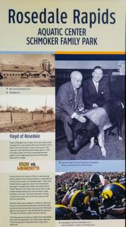 Floyd of Rosedale Iowa pig