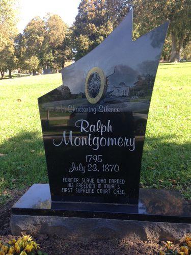 Ralph Montgomery marker Dubuque Iowa