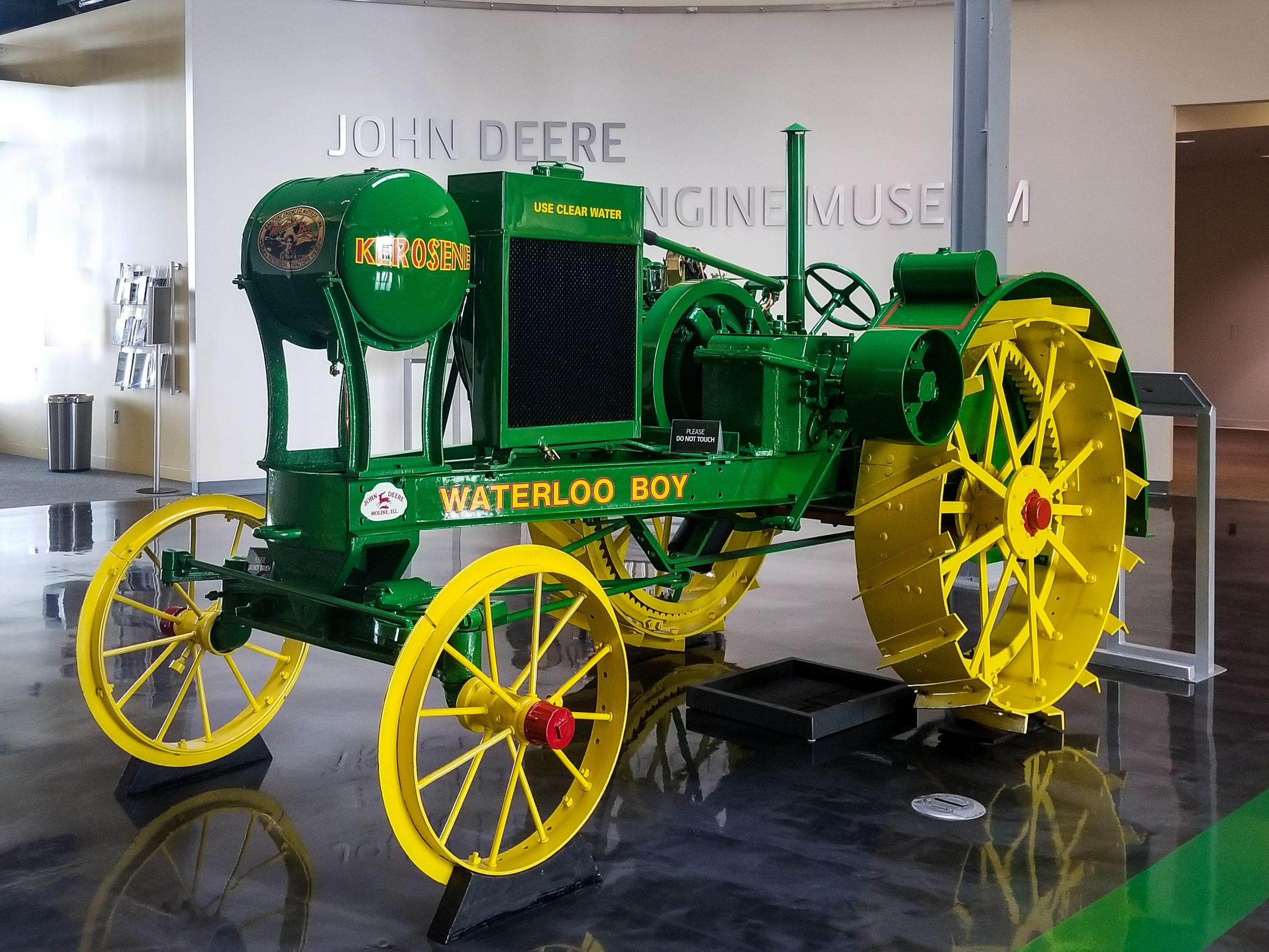 Waterloo Boy Tractor in Iowa