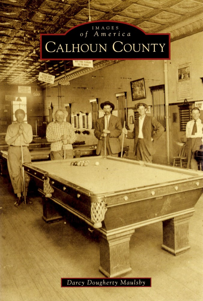 Calhoun County Iowa history book cover