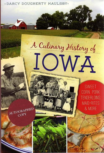 Culinary History of Iowa book